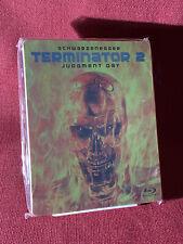 Terminator 2: Judgement Day Blu-Ray + Digital Steelbook Limited Clean Ships Free