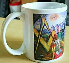 More details for freemasonry mug - masonic mug - 11ozn - (limited stock)