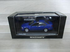 Minichamps 1/43 - Volvo S40  blue 2000  - Mint in  box