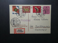Germany 1967 KOBLENZ-1 Event Card / Sm Corner Crease - Z12220