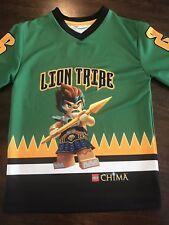 Lego Chima Lion Tribe Hockey Jersey Shirt Size Small Lennox