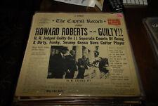 Howard Roberts LP Jazz Guitar Guilty US Capitol Musicians institute creator