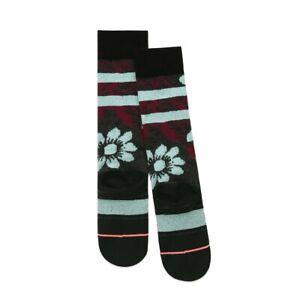 New Stance Dew Drop Kids Acrylic Snowboard Socks Girls Youth Medium Black 11-1