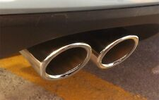 VW GOLF 7 MK7 2013 2014 2015 2016 2017 2018  Chrome Exhaust Muffler Tip Pipe