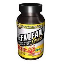 Labrada EFA LEAN GOLD with Omega 3 & Tonalin CLA 180 caps BUILD MUSCLE BURN FAT