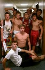 Shirtless Male Frat Boy Jocks Fraternity College Party Dudes  PHOTO 4X6 N304