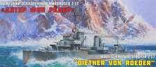 ZVEZDA 1/350   WWII German Destroyer Z-17 'Dieter von Roeder' #9043
