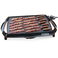 Griddle Grill Electric Cooker Pancake Cookware Flat Top Large Countertop Stove