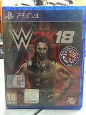 WWE 2K18 Ita PS4 NUOVO SIGILLATO
