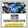Kit Adesivi Suzuki GSX-RR Team Ecstar MotoGP 2018 - Light Version