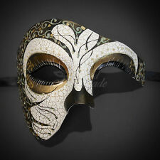 Phantom of the Opera Mask, Phantom Masquerade ball Mask for Men M31162