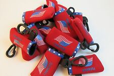 20 Lip Balm/Utility Holders Only -- Flag Red