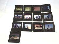 Kodachrome Slides of Ancient Egypt Pyramids, and Hieroglyphics Lot of 13