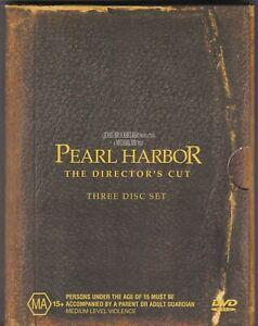 Pearl Harbor - The Director's Cut - DVD (3 x DVD Box Set Region 4 PAL)
