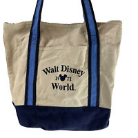 Walt Disney World 1971 Vintage Style Collectible Canvas Tote Bag~Free Shipping