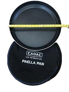 CADAC 5758 47cm Paella Pan - Black