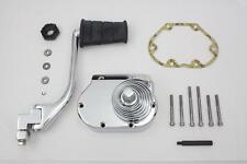 Kickstarter Kit w/fold-out offset kicker arm w/chrome spring for Harley 5-speed