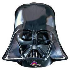 Amscan 2844501 Star Wars Darth Vader Helmet Super Shape Foil Balloons