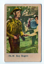 1950s Swedish Film Star Card PA Set #88 American Singer Cowboy Actor Roy Rogers