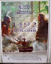 1942 CHRISTOPHE COLOMB - AFFICHE CINEMA MOVIE POSTER 120X160 DEPARDIEU