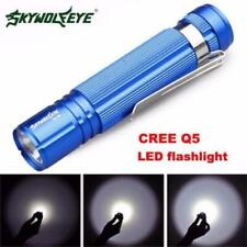 Newly 7w cree q5 LED 1200lm mini Flashlight Torch light 14500/aa lamp waterproof