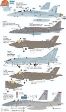 Wolfpak Decals 72-113 Fighting Cocks Lightning Crusader Eagle Lockheed Douglas