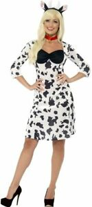 BNIB Smiffys Halloween Cow costume size medium 12-14