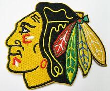 "(1) NHL 7 1/2"" X 7"" CHICAGO BLACKHAWKS PATCH (FOR BACK OF JACKET)"