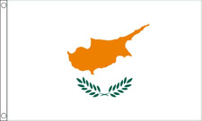 CYPRIOT ( CYPRUS ) FLAG 5ft X 3ft