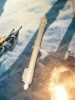 Star Wars Hasbro 2010 luke Skywalker's Snowspeeder left Cannon with missile