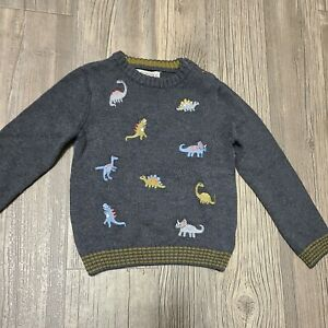 Ministry Of Rascals Gray Dinosaur Sweater (SIZE 3T)