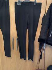 New Look Slim Leg Black Trousers Work Wear Size 12