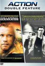 Collateral Damage/Eraser - DVD - (disc only)