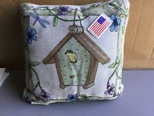 """USA Made NWT A Safe Place 17"""" x 17"""" Tapestry Throw Pillow #435"""
