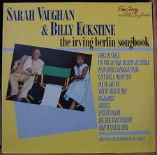 SARAH VAUGHAN & BILLY ECKSTINE THE IRVING BERLIN SONGBOOK HOLLAND PRESS  LP