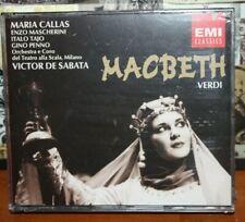 Verdi: Macbeth Maria Callas Scala, Milano EMI Classics CD NEW