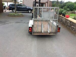 Indespension 2.7 ton mini digger trailer