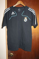 Adidas Real Madrid Men's Black T Shirt Size Small