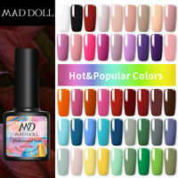 8ml MAD DOLL Spring Series UV Gel Nail Polish Soak Off UV Gel Nail Art Varnish