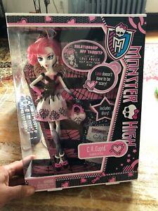 "Monster High C.A Cupid "" Daughter of Eros"". 2011 NIB"