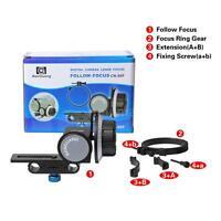 DSLR Follow-focus CN-90F with Gear Ring Belt for Canon Nikon DSLR