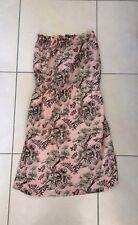 robe bustier PAUL ET JOE SISTER rose imprimé taille 36