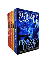 Richard Castle Nikki Heat Series 5 Books Collection Set Deadly, Frozen