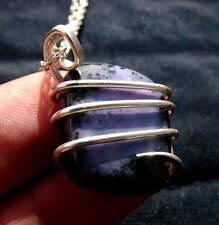 Grape Purple Russian Chaorite Pendant Sterling Silver #1
