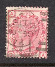 QV 1873-80 Sg 143 plate 14 ( D A ) 3d Rose with Leith cds pmk.