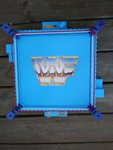 Vintage 1989 WWF Wrestling Mania Ring Titan Sports Hasbro