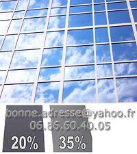 Film Solaire Teinté Gris ou Transparent Anti Effraction Vitre Fenêtre sans tain