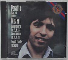 MOZART : PERAHIA PLAYS AND CONDUCTS MOZART - PIANO CONCERTOS CD