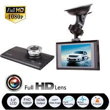 "2.7"" LCD Dual Lens Telecamera Auto HD 1080P DVR Dash Cam Video Recorder G-Sensor"