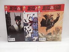 Justice League Dc Comic Books X3 Gods & Monsters Superman Batman Wonder Woman